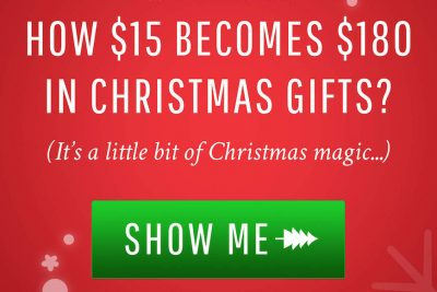 Find Out How to Score $180 In Gift Certificates for $15
