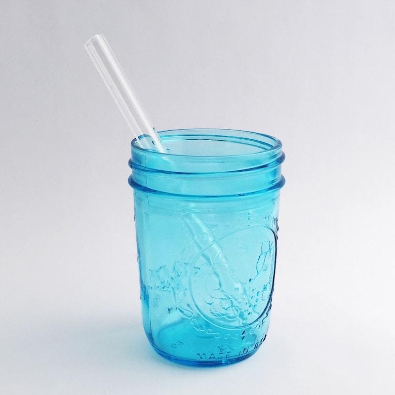 Clear Glass Straw Strawesome