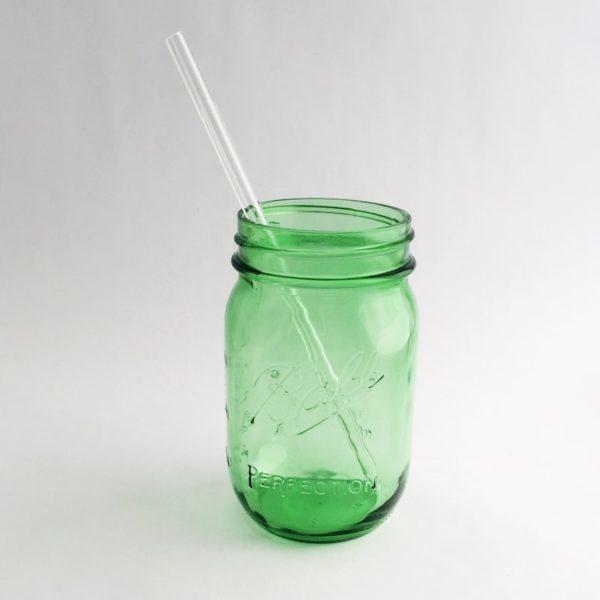 Clear Skinny Glass Straw