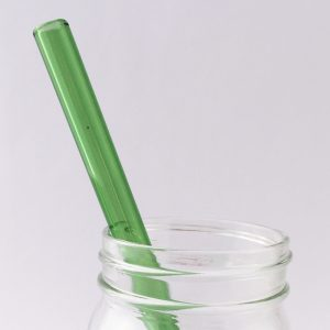 Going Green Glass Straw