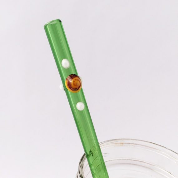 Ivy Glass Straw