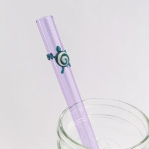Sea Turtle Conservancy Glass Straw