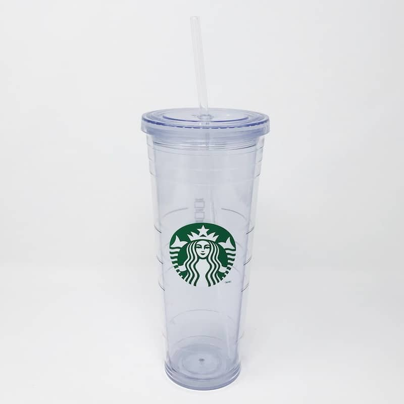 Clear Starbucks Venti Replacement Straw