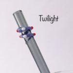 Twilight Glass Drinking Straw