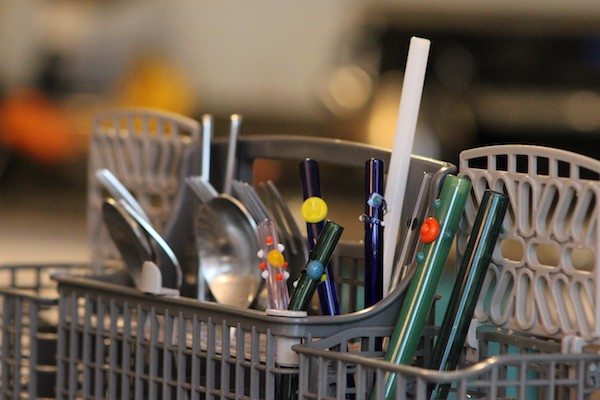dishwasher safe glass straws