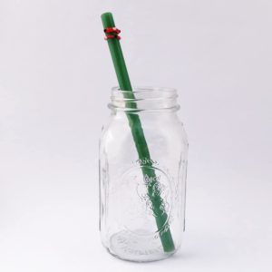 Jolly Long Smoothie Glass Straw