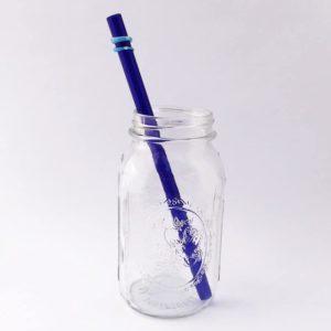 Skye Long Smoothie Glass Straw